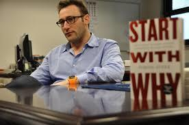 Simon sinek, the author of start with why is key for exercise prescription