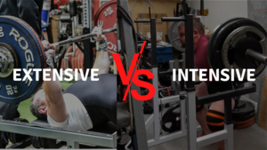 Read more about the article Writing an Exercise Program – Extensive vs. Intensive